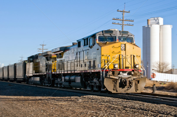 Early morning coal train from Wyoming Stock photo © rcarner