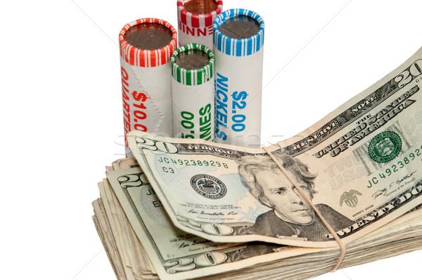 США валюта монетами американский Сток-фото © rcarner