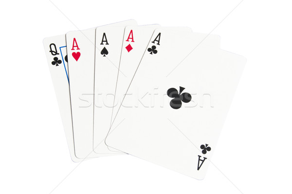 Four aces Stock photo © rcarner
