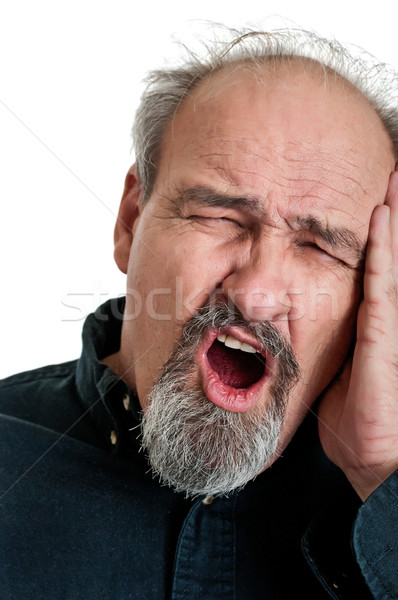 Mature Male In Pain Stock photo © rcarner