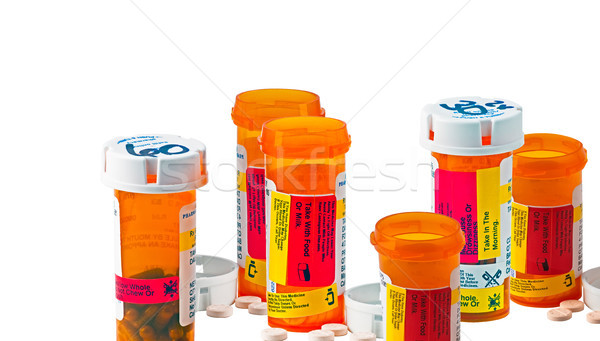 Daily medicine dose Stock photo © rcarner