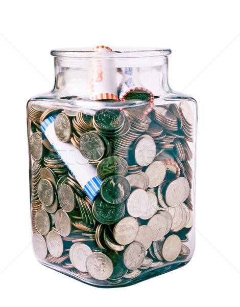 Collection of quarters Stock photo © rcarner