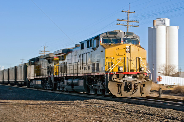 Freight train heading south Stock photo © rcarner