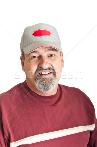 Smiling Mature Adult Male Stock photo © rcarner