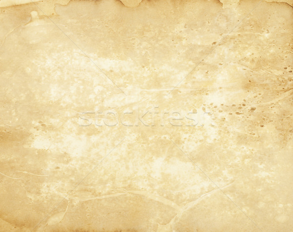 Grunge parchment paper Stock photo © rcarner