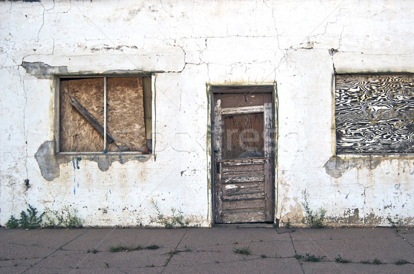 Abandoned and Neglected Building Stock photo © rcarner
