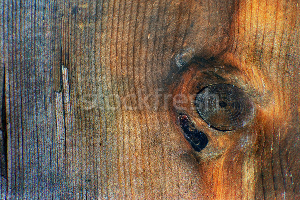 Wood grain with grunge old warm tones Stock photo © rcarner