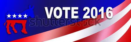 Stock photo: Patriotic Bumper Sticker Background