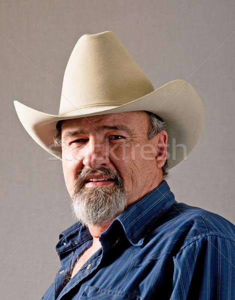 Retired Cowboy Stock photo © rcarner