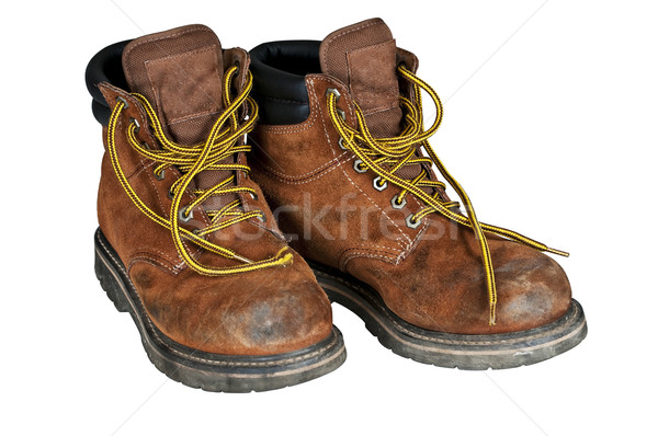 Mens work boots Stock photo © rcarner