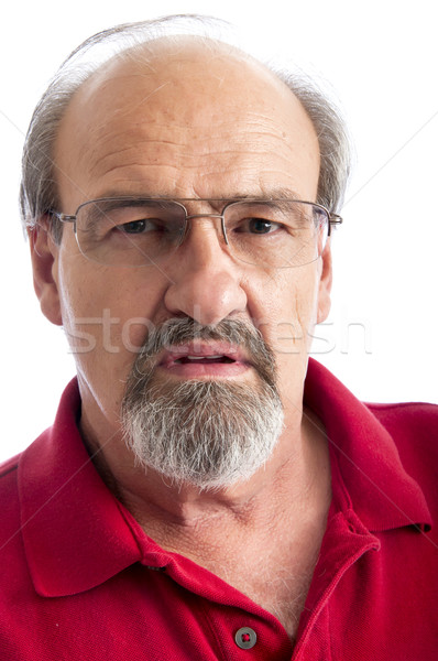 Angry man  Stock photo © rcarner