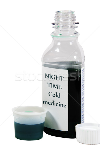 Over The Counter Cold Medicine Stock photo © rcarner