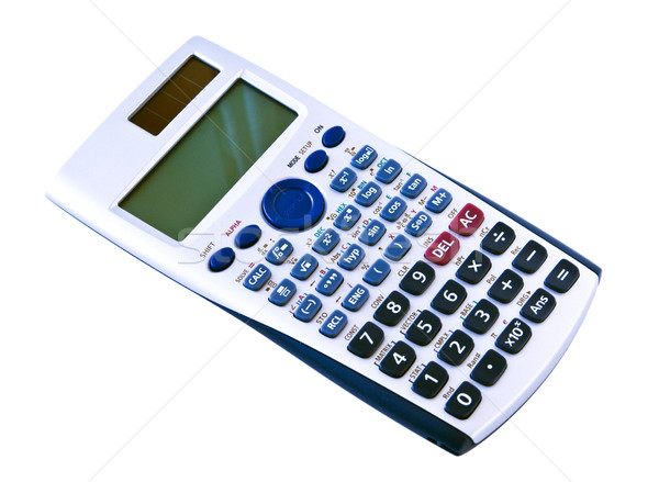 Algebra calculator studenten klasse Stockfoto © rcarner