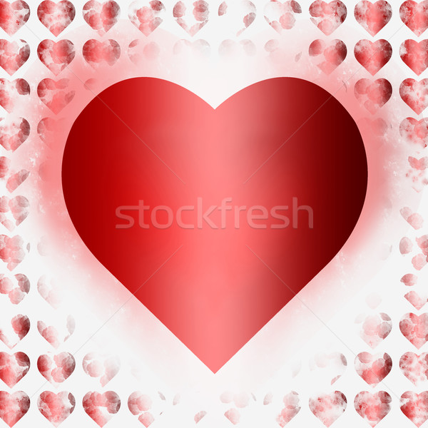 Bright Valentine Card Background Stock photo © rcarner