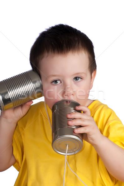Play walkie talkie Stock photo © rcarner