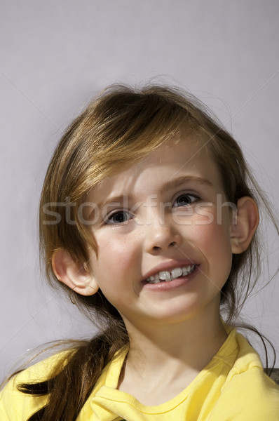 Pretty first grader Stock photo © rcarner