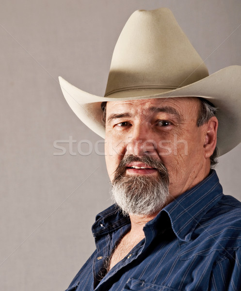 White Hat on one of the good guys Stock photo © rcarner