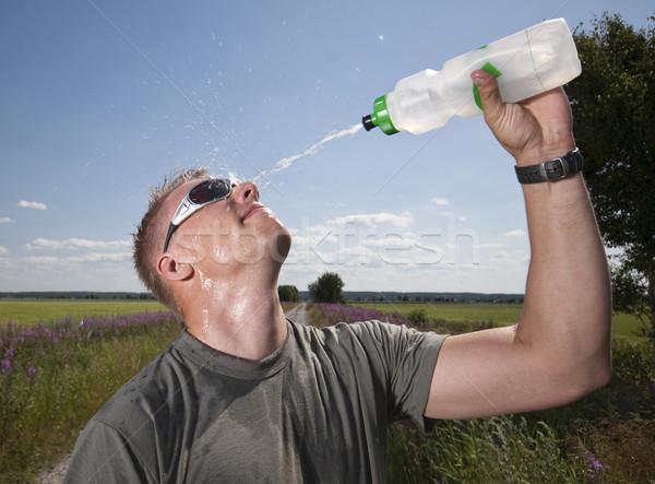 Splashing water. Stock photo © Reaktori