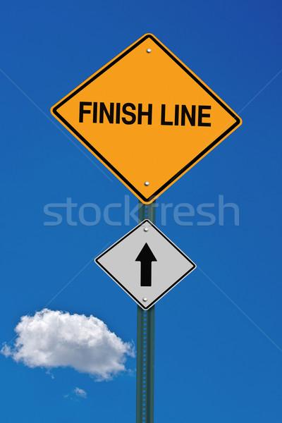 finish line ahead  Stock photo © RedDaxLuma