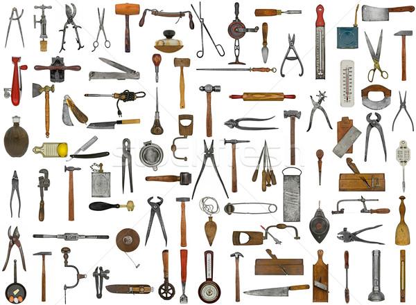 vintage tools and utensils Stock photo © RedDaxLuma