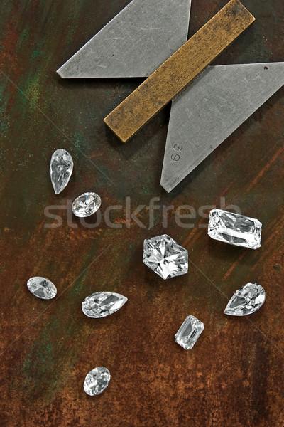 diamonds and tool Stock photo © RedDaxLuma