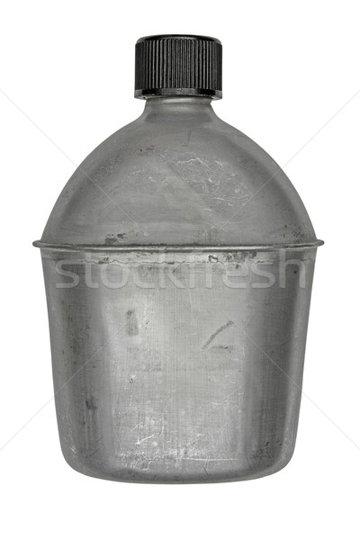 vintage canteen Stock photo © RedDaxLuma