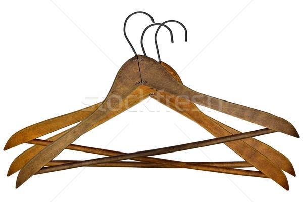 vintage clothes hangers Stock photo © RedDaxLuma