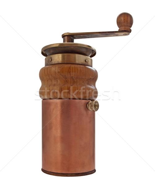vintage coffee grinder mill Stock photo © RedDaxLuma