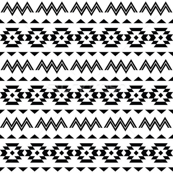 Tribal pattern, Aztec seamless background    Stock photo © RedKoala