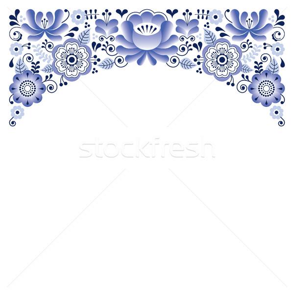 Stockfoto: Russisch · ornament · stijl