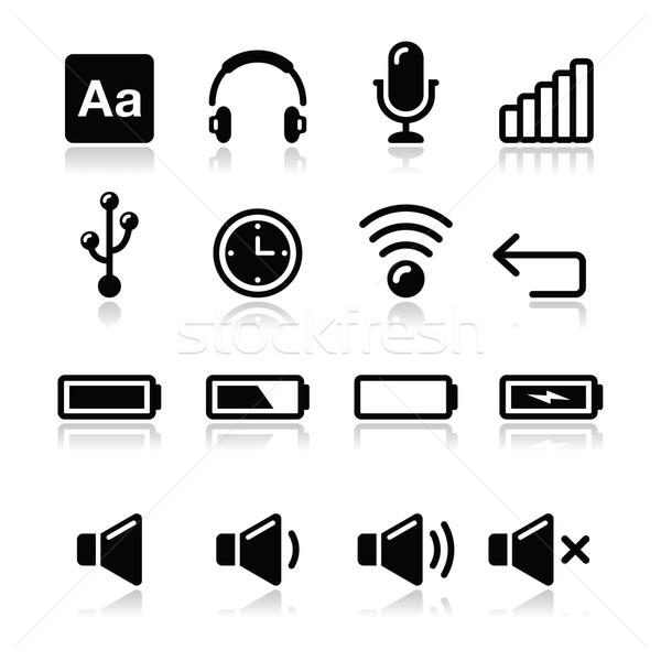 Eletrônico dispositivo software de computador vetor moderno Foto stock © RedKoala
