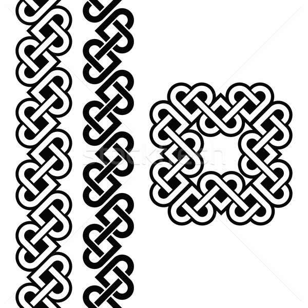 Celtic Irish knots, braids and patterns   Stock photo © RedKoala
