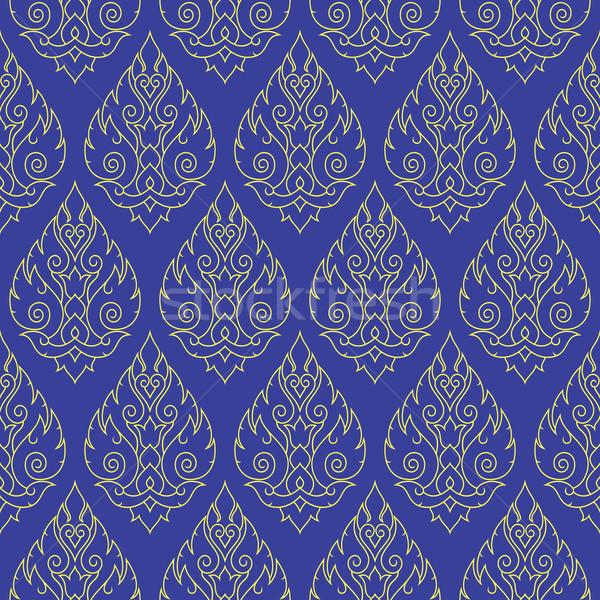 シームレス タイ パターン 反復的な タイ ベクトル ストックフォト © RedKoala