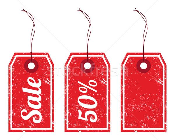 Sale vintage labels Stock photo © RedKoala