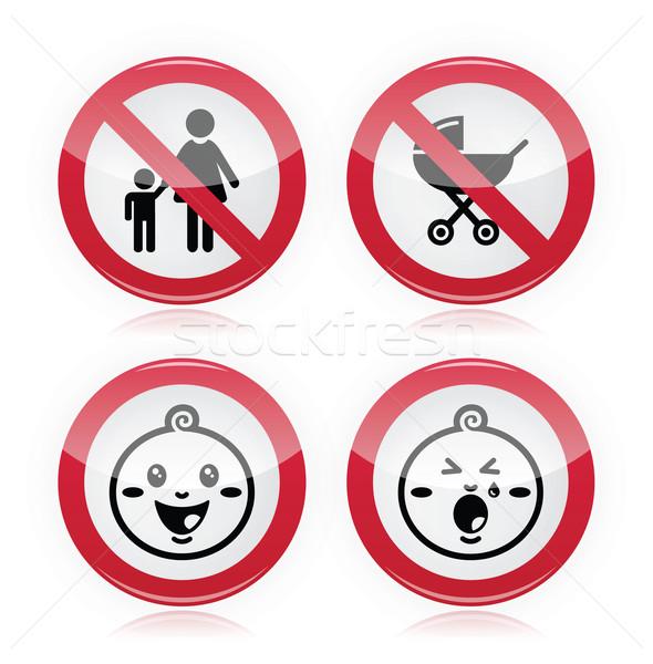 Nie dzieci dzieci dzieci Zdjęcia stock © RedKoala