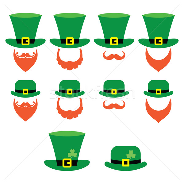 Leprechaun character for St Patrick's Day in Ireland Stock photo © RedKoala