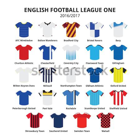 Bundesliga jerseys 2014 - 2015,German football league icons  Stock photo © RedKoala