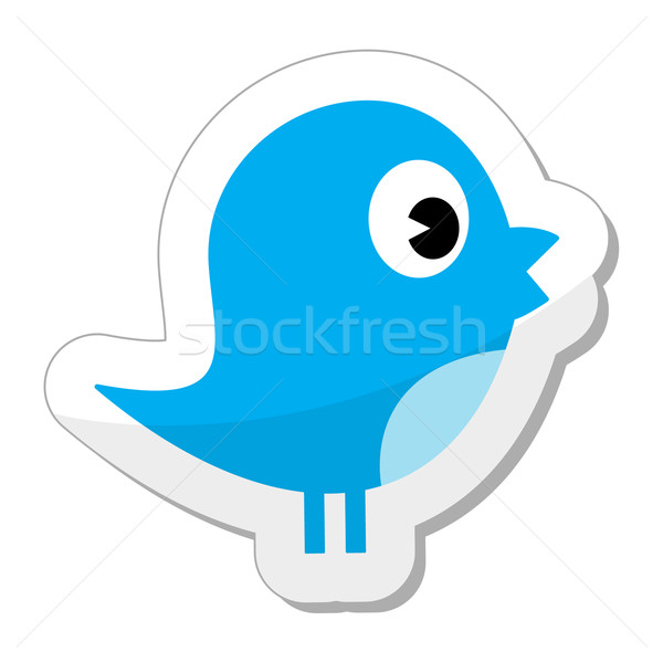 Twitter bird Stock photo © RedKoala