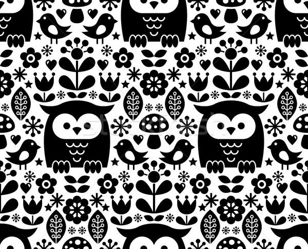 Arte tradicional diseños vector Foto stock © RedKoala