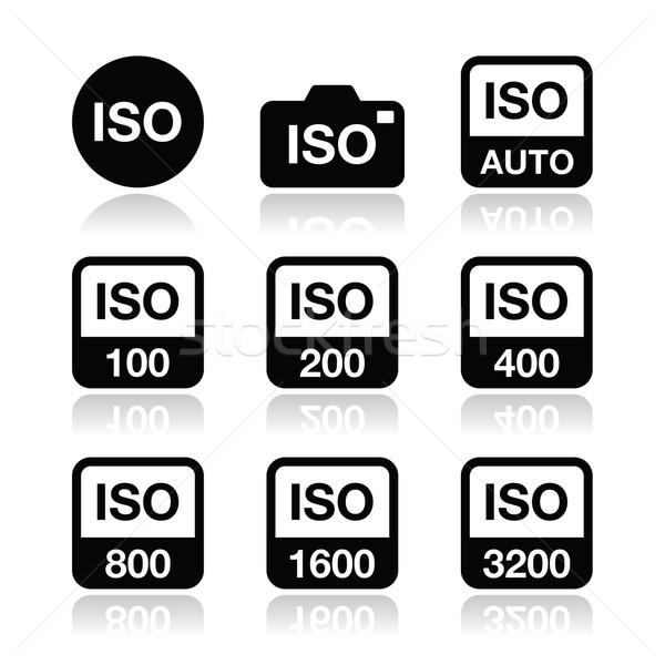 Iso kamera film hızlandırmak standart Stok fotoğraf © RedKoala