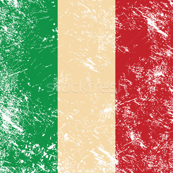 Italy retro flag Stock photo © RedKoala