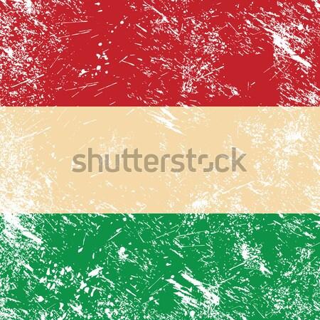 Lithuania retro flag Stock photo © RedKoala