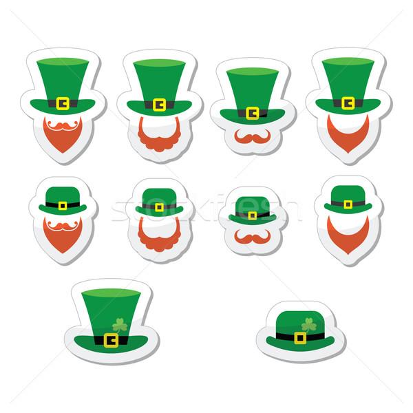 Leprechaun character for St Patrick's Day in Ireland Stock photo © RedKoala