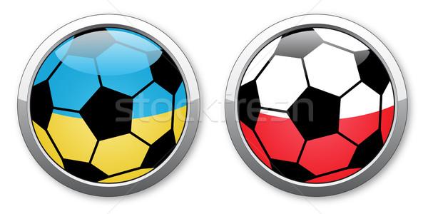 Euro 2012 Ukraine - Poland Stock photo © RedKoala