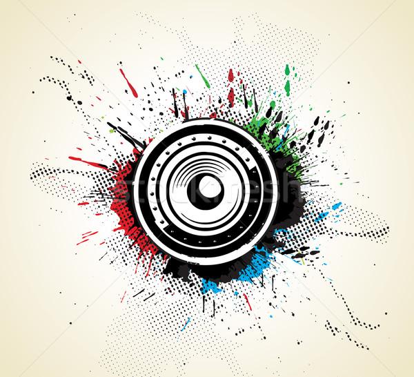 Music concept Stock photo © redshinestudio
