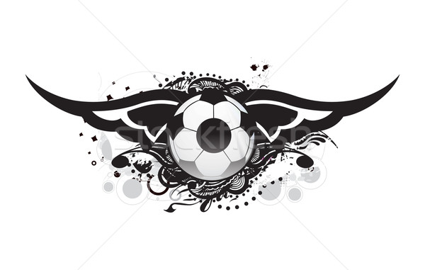 Football banner design Stock photo © redshinestudio