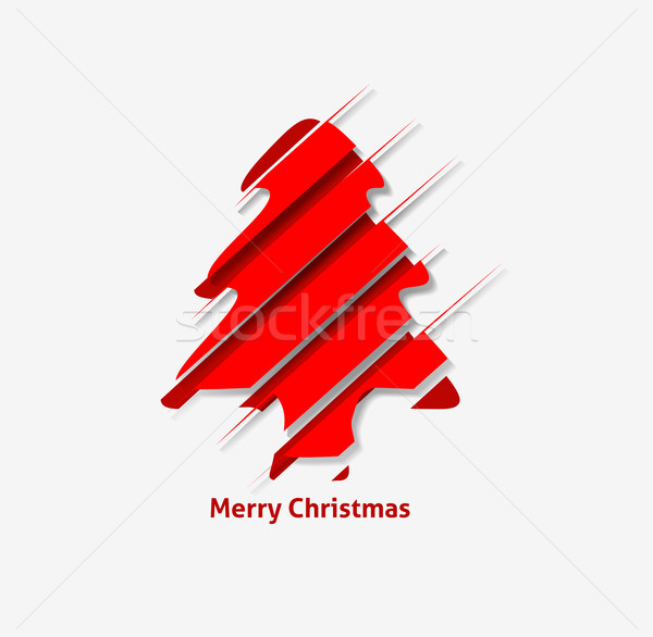 Christmas Tree Background  Stock photo © redshinestudio
