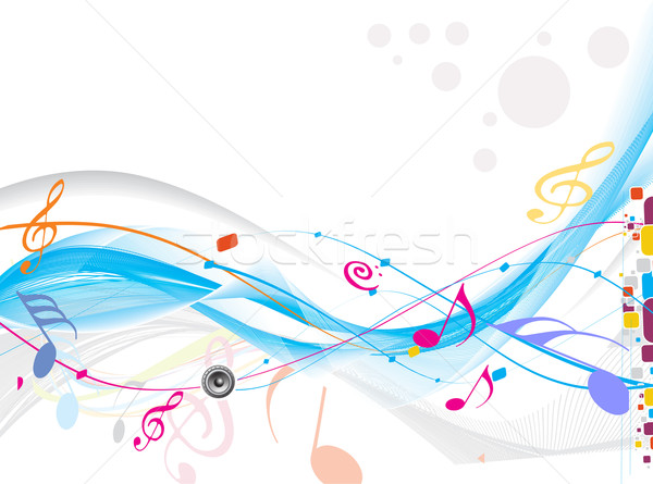 Music background Stock photo © redshinestudio
