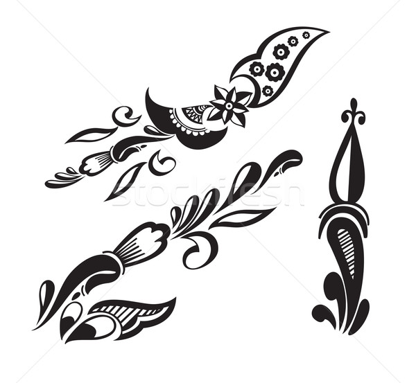 tattoo design  Stock photo © redshinestudio