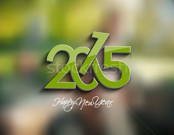 с Новым годом 2015 бизнеса вечеринка моде аннотация Сток-фото © redshinestudio